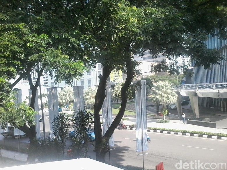 Begini Jarak Sudirman Mansion Difoto dari Arah Lucy in The Sky