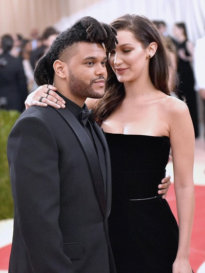 The Weeknd dan Bella Hadid. (Foto: Getty Images)
