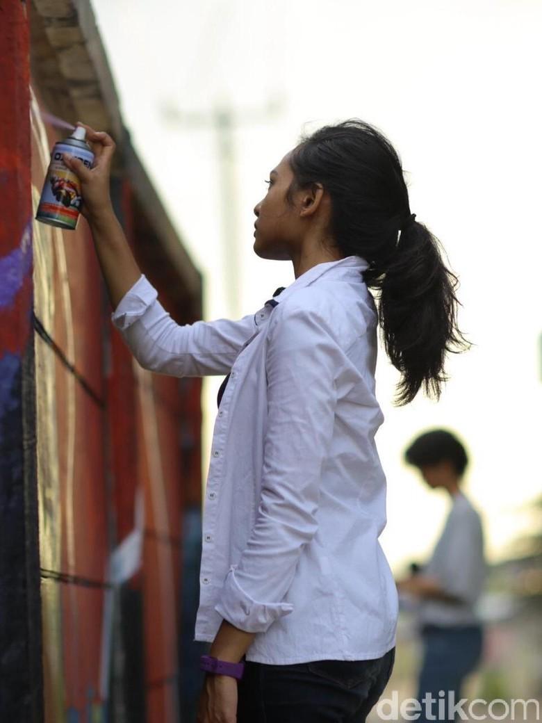 Dari Grafiti, Pendiri Ladies on Wall Diundang ke Festival se-Asia Tenggara