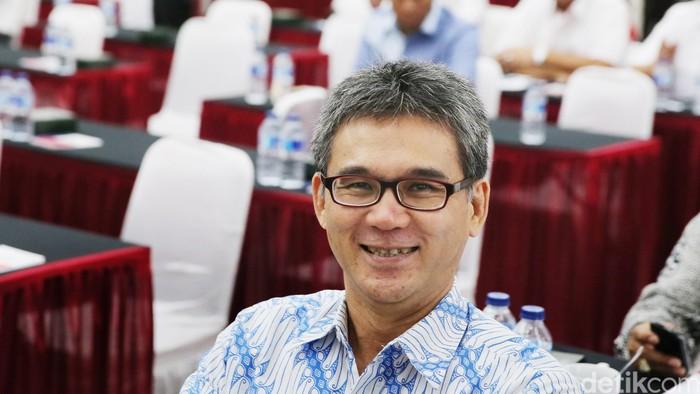Ketua Bidang Pengelolaan Pesisir TGUPP DKI Marco Kusumawijaya (Ari Saputra/detikcom)