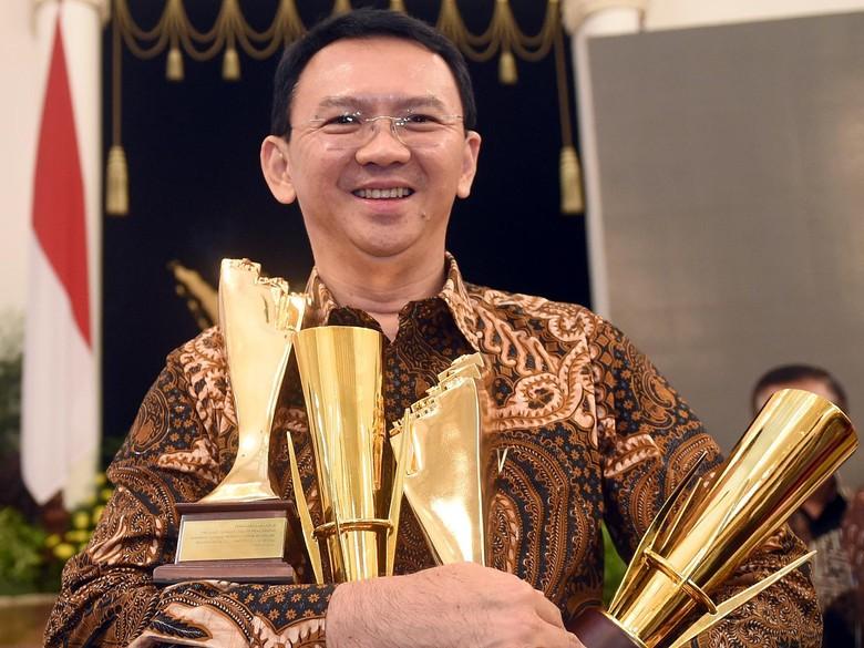 Ahok: Saya Kaget Dapat 4 Penghargaan, Selama Ini Kami Hanya Fokus Kerja