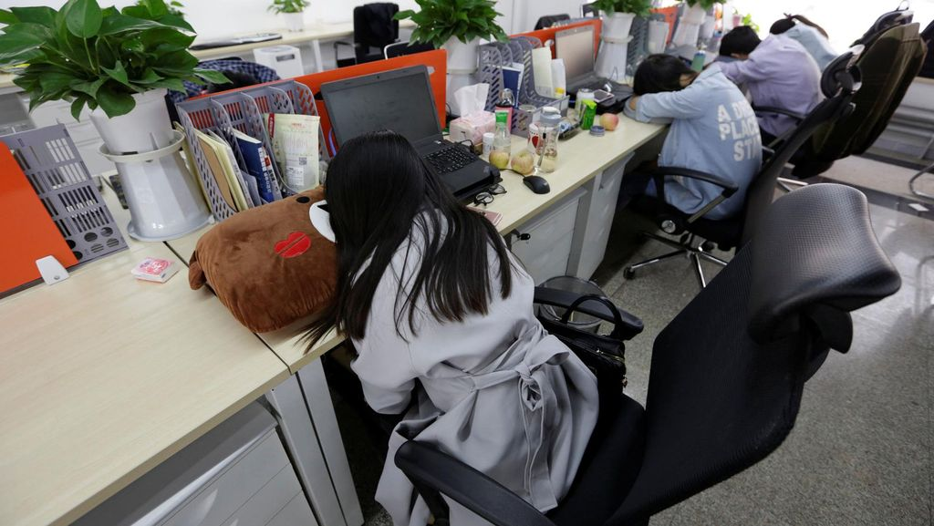 Jumlah Pekerja di China Capai Angka 780 Juta