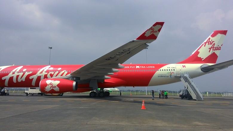 Penjelasan AirAsia Indonesia Soal Pesawatnya yang Di-grounded Kemenhub