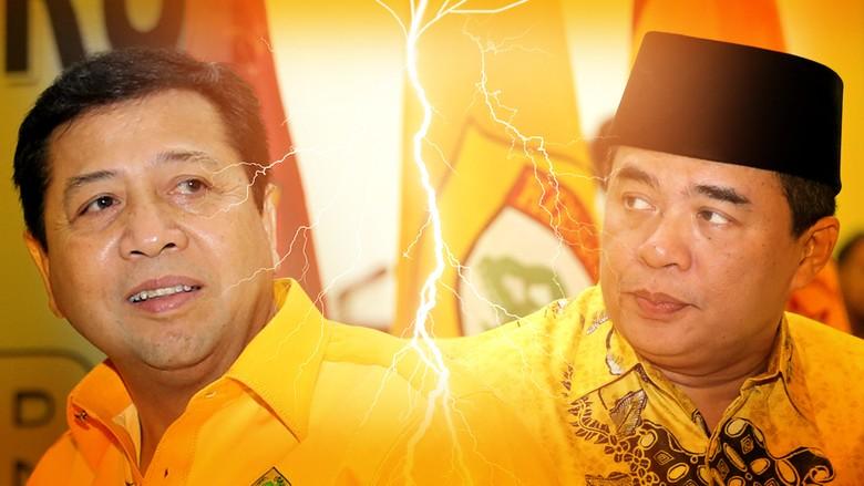 Akom Ungkap Deal dengan Novanto: Saya Urus DPR, Beliau Urus Partai
