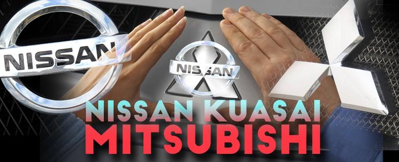 Logo Nissan-Mitsubishi Foto: Zaki Alfarabi