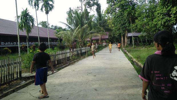 Rumah Betang Palangka Raya.