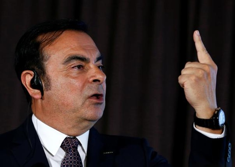 Chairman and Chief Executive Renault-Nissan Alliance Carlos Ghosn (Foto: REUTERS/THOMAS PETER)