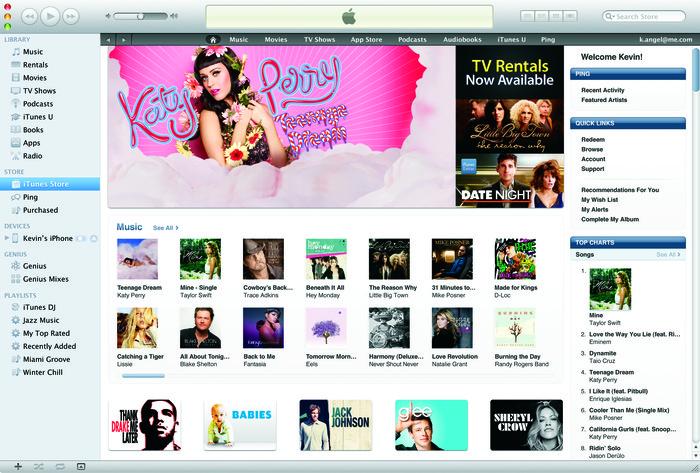 Ilustrasi iTunes. Foto: Istimewa