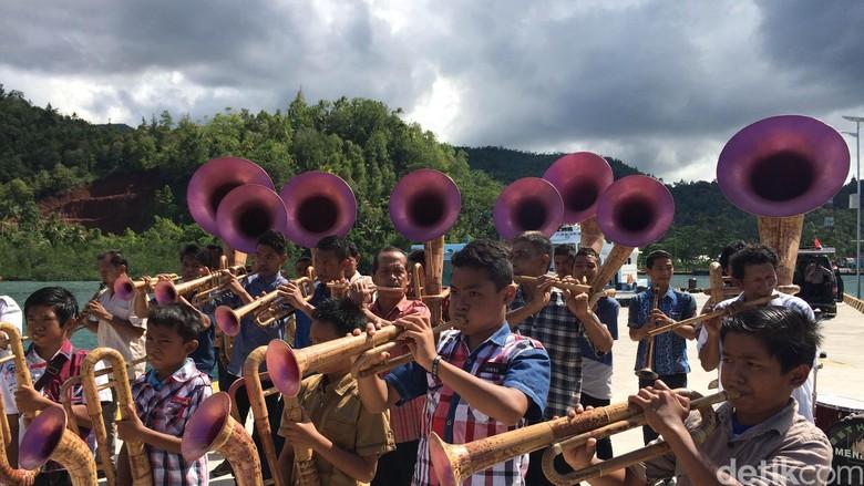 alat musik bambu Sangihe