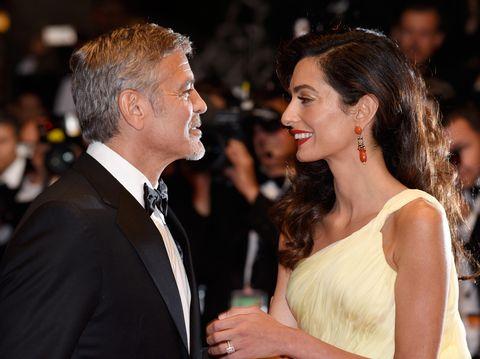 Rayakan 2 Tahun Pernikahan, George Clooney dan Amal 'Balas' Cibiran Haters