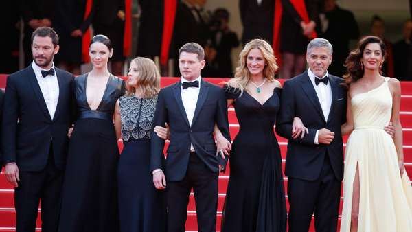 Deretan Artis di Red Carpet Money Monster Festival Film Cannes 2016