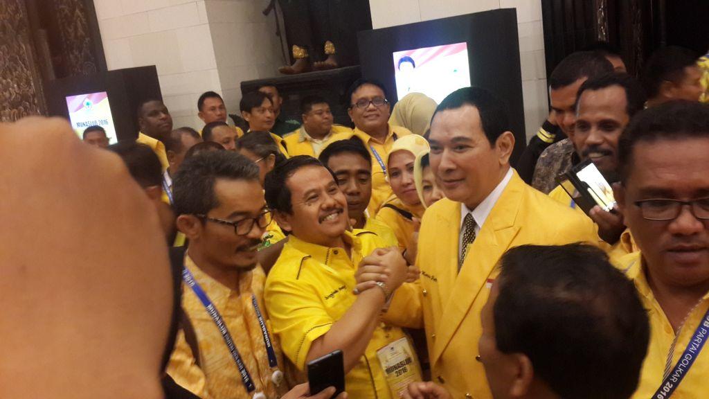 Tommy Soeharto di acara pembukaan Munaslub Golkar di Bali