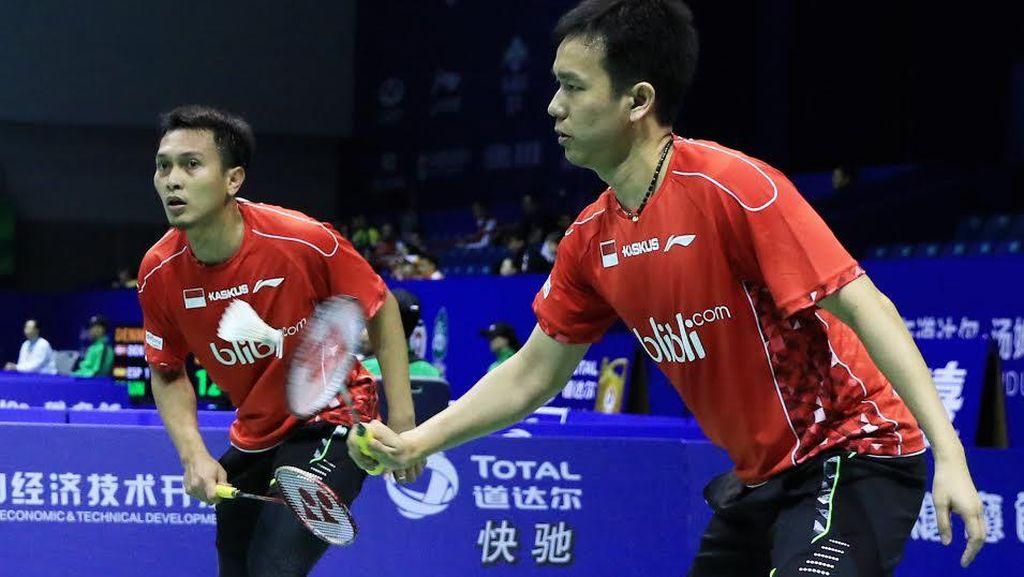 Hendra/Ahsan Juga Menang, Indonesia Ungguli Kanada 2-0