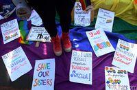 Aksi menolak kekerasan seksual /