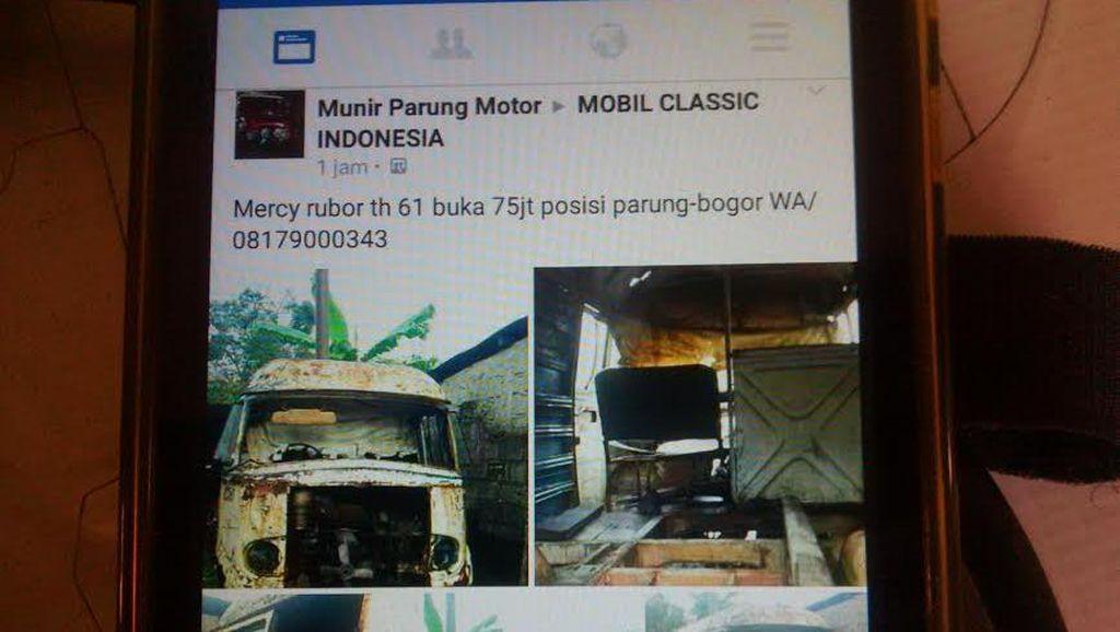 Tak Lagi di Parung, Ambulans Horor Bandung Sudah Laku Rp 40 Juta