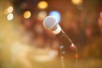 Ilustrasi karaoke.