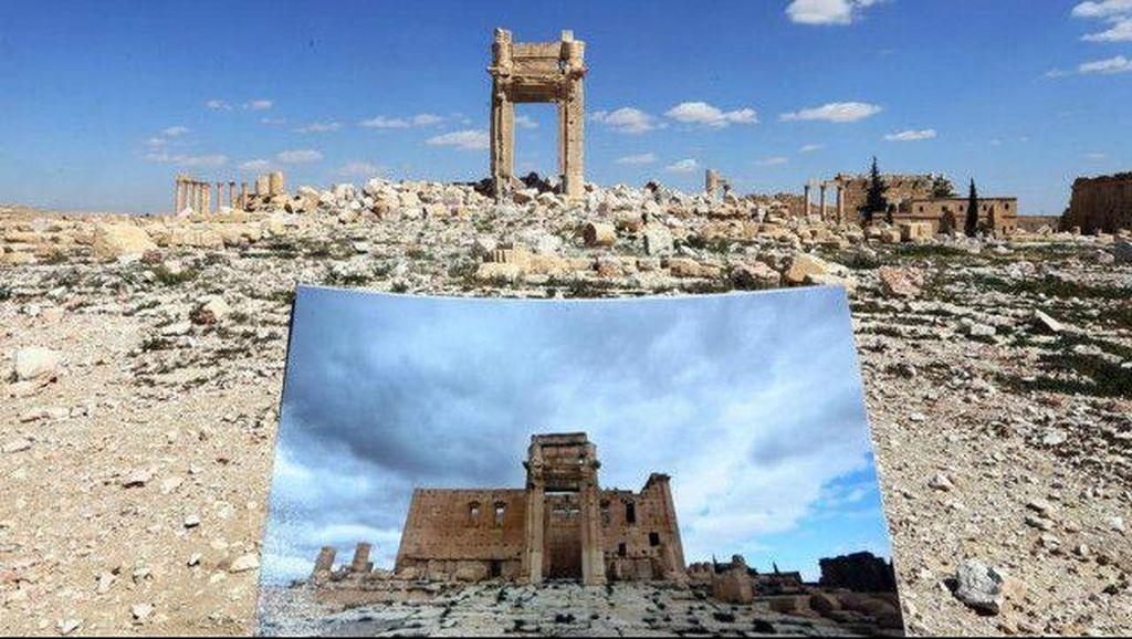 Menyayat Hati, Foto Palmyra Sebelum dan Sesudah Hancur