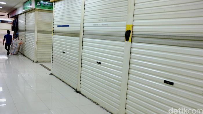 Kios toko di mall itc. dikhy sasra/ilustrasi/detikfoto