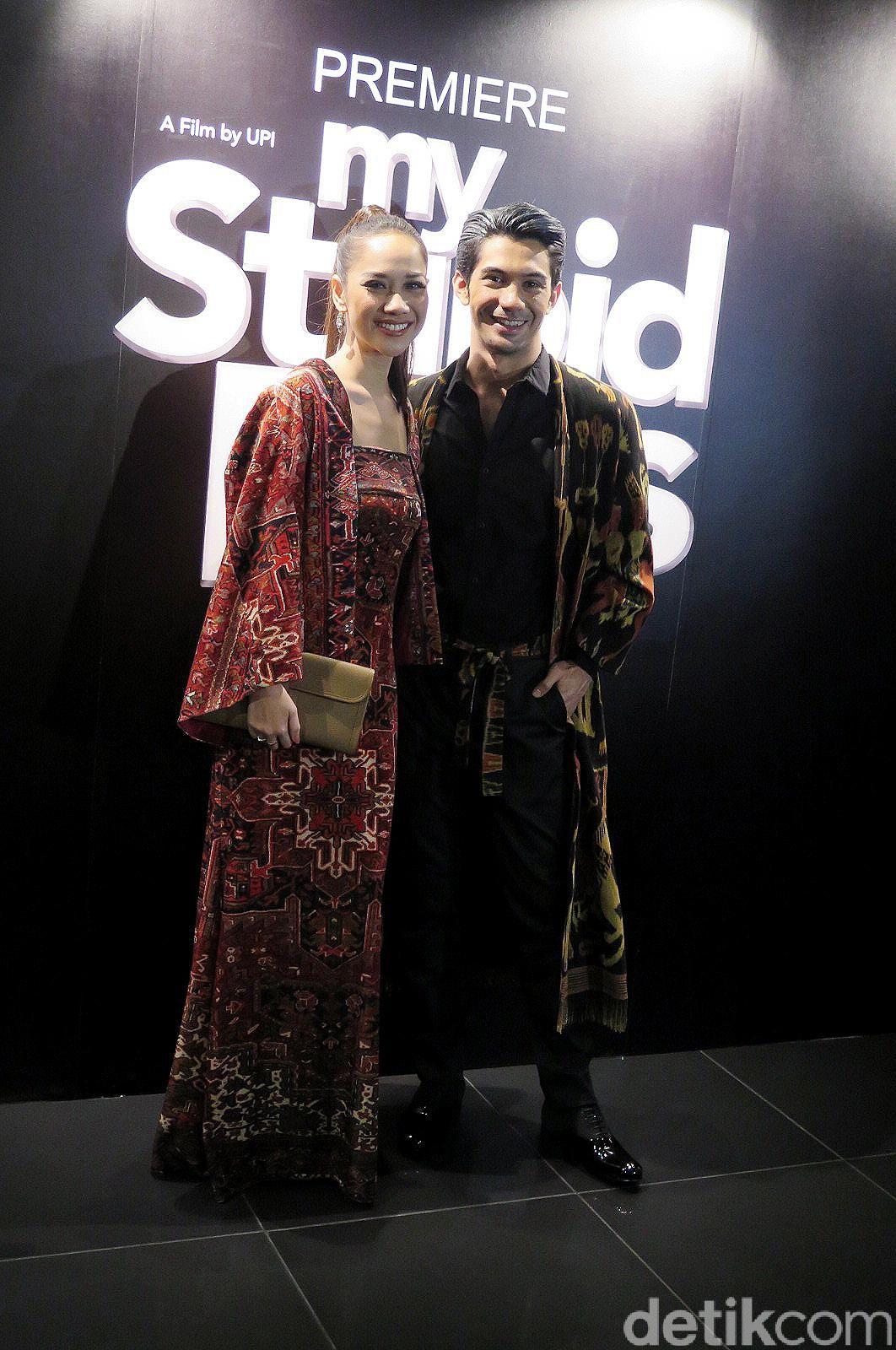 Bunga Citra Lestari alias BCL & Reza Rahadian hadiri premiere film 'My Stupid Boss' di Golden Screen Cinemas (GSC), Kuala Lumpur, Malaysia.