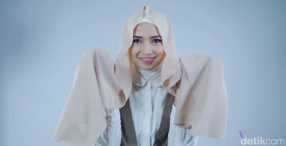 Tutorial Hijab Untuk Mahasiswi Dari Si Cantik Pandan Sari