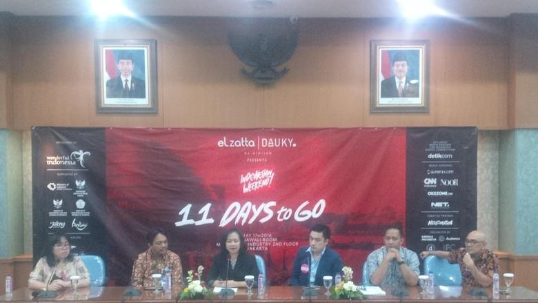 Foto: Suasana press conference Indonesian Weekend (Fitraya/detikTravel)