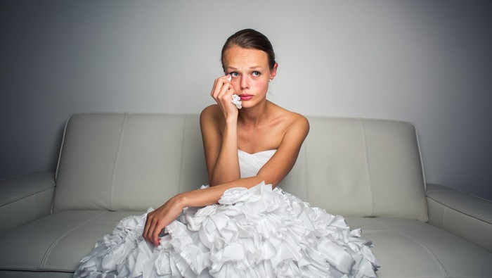 Ilustrasi wanita menangis. Foto: Thinkstock