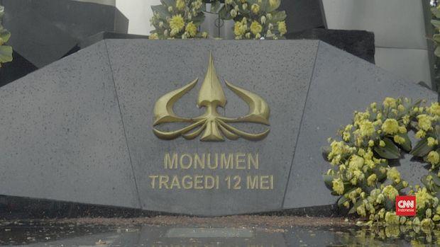Monumen Tragedi Trisakti, Jakarta Barat.