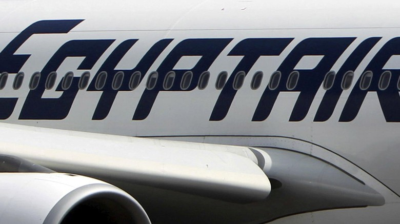 FILE PHOTO - An EgyptAir plane is seen on the runway at Cairo Airport, Egypt in this September 5, 2013 file photo. REUTERS/Mohamed Abd El Ghany/File Photo