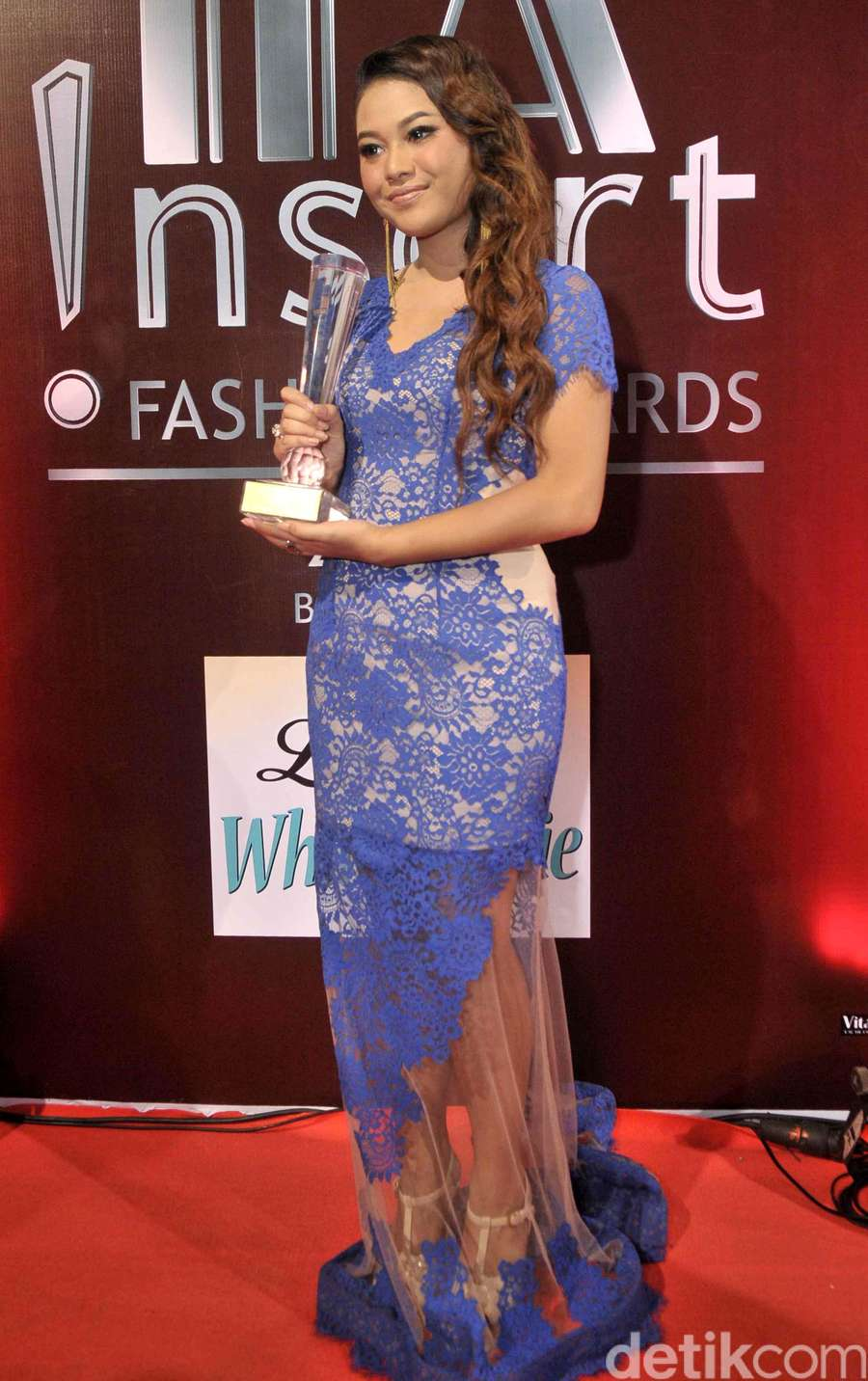 Aurel Selebriti Remaja Wanita Terfavorit Nsert Fashion Awards 2016