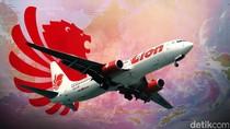 Roda Ambles, Lion Air Tujuan Balikpapan Stuck di Runway Juanda
