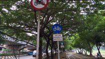 Minimnya Jalur Sepeda di Mata Para Bike Messengers