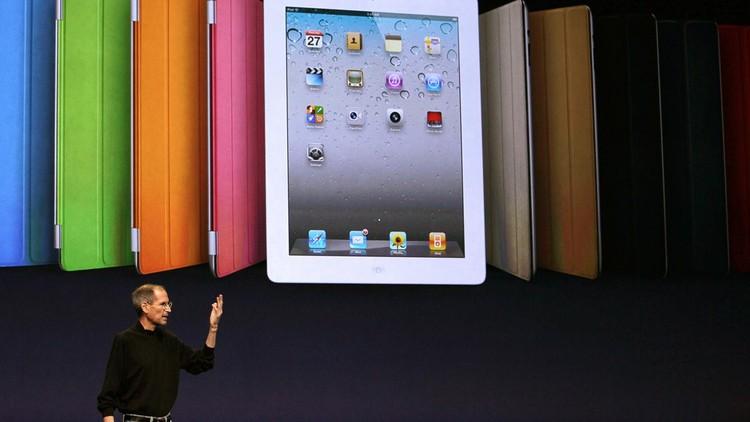 Steve Jobs dalam sebuah acara