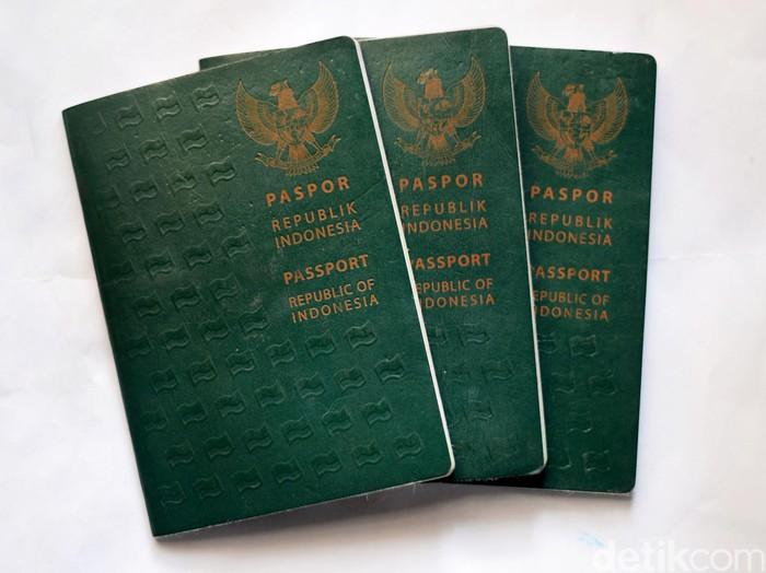 Paspor Indonesia/Foto: Ari Saputra