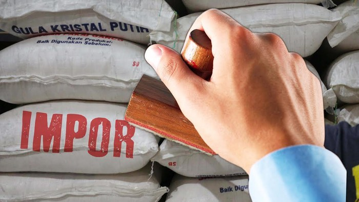 Indonesia berencana melakukan impor gula sebanyak 381.000 ton.