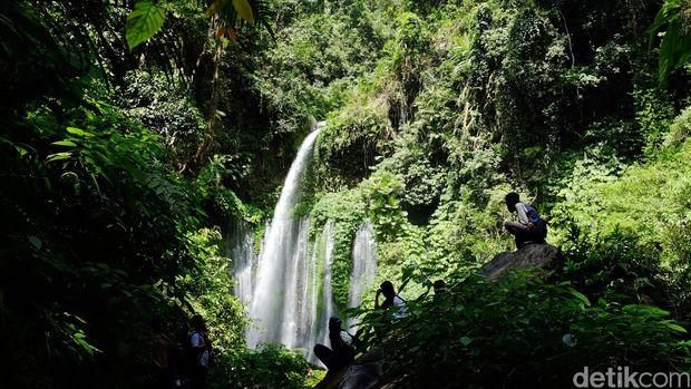 Mengenal Air Terjun Tiu Kelep, Tempat 40 Turis Terjebak Usai Gempa