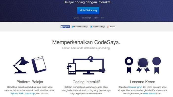 Foto: screenshot CodeSaya