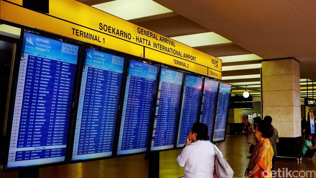 Imbas Massa Habib Rizieq, Otoritas Bandara Soetta: 118 Penerbangan Delay