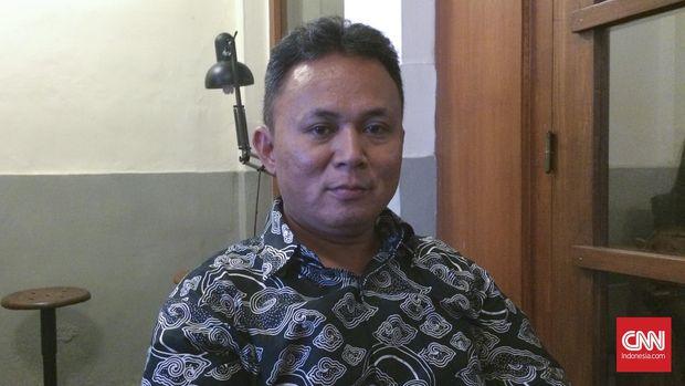Mugiyanto, salah satu aktivis korban kasus penghilangan paksa 1998.