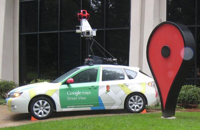 Ilustrasi Google Street View. Foto: Istimewa
