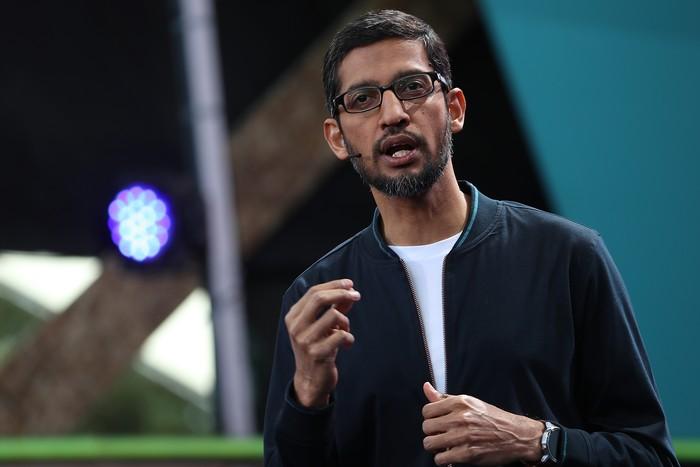 CEO Google Sundar Pichai. Foto: GettyImages