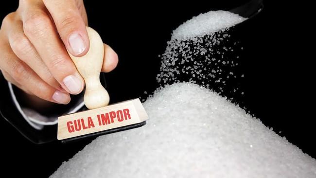 Ilustrasi gula impor/Foto: Mindra Purnomo