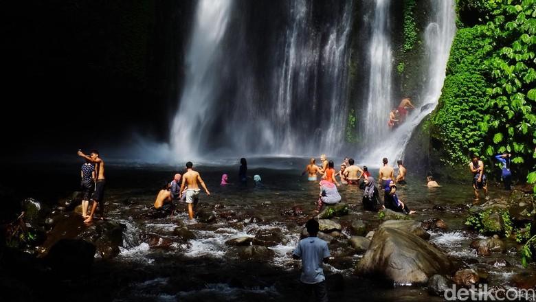 Gempa NTB, 22 Turis Malaysia Terjebak di Air Terjun dan 2 Meninggal