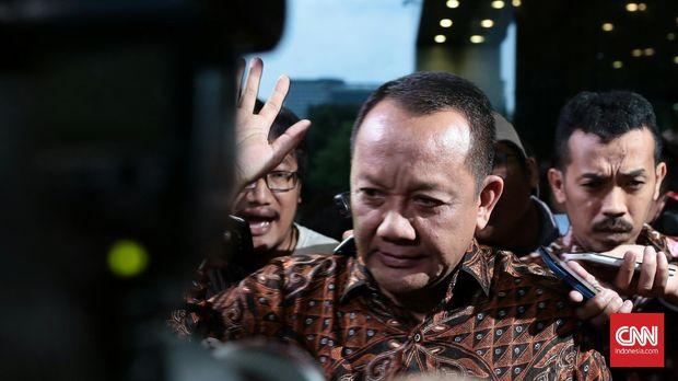 Eks Sekretaris MA Nurhadi iktu diperiksa sebagai saksi dalam kasus suap panitera PN Jakpus yang menyeret Eddy Sindoro.