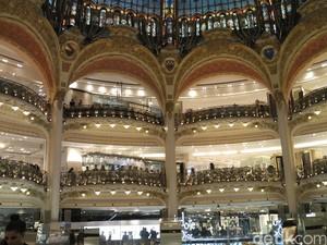Menengok Galeries Lafayette, Pusat Belanja Paling Mewah di Paris