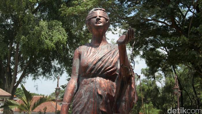 ilustrasi hukum dewi keadilan