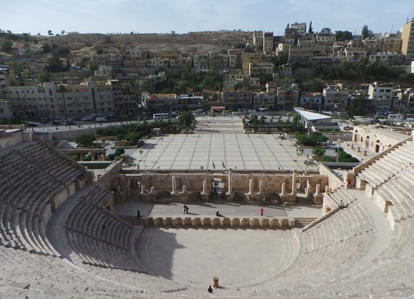 Amman juga masuk dalam daftar kota-kota aman di dunia. (dok. detikcom)