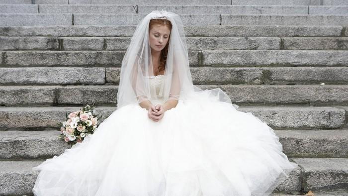 Ilustrasi pengantin wanita sedih. Foto: Thinkstock