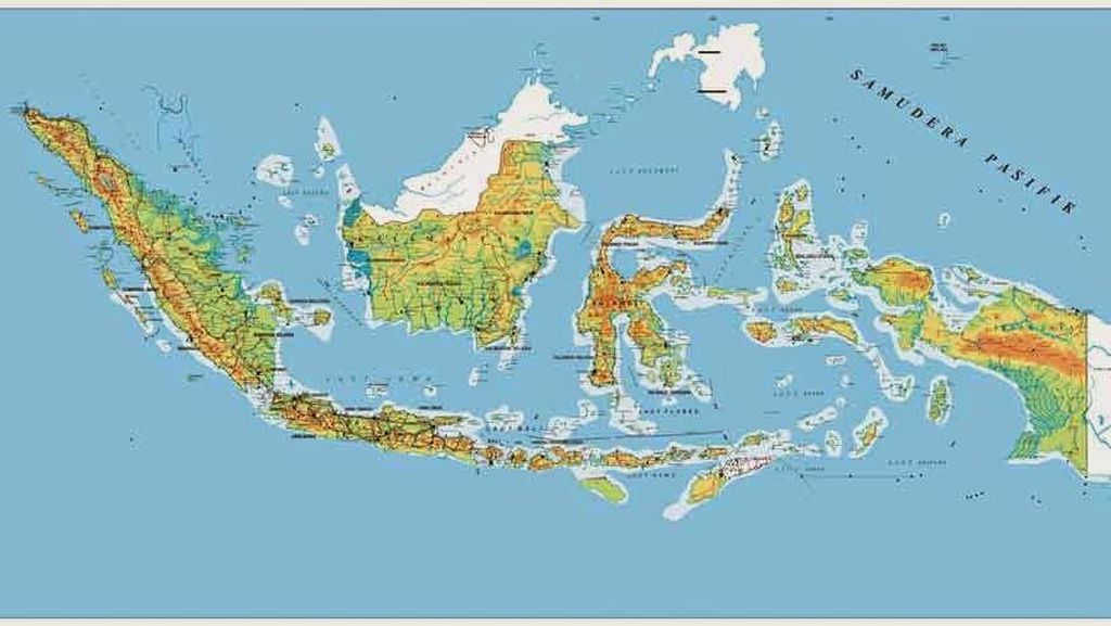 Serba-serbi Peta dan Profil Penting Indonesia