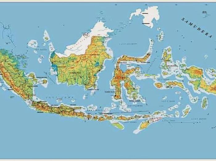 Serba Serbi Peta Dan Profil Penting Indonesia