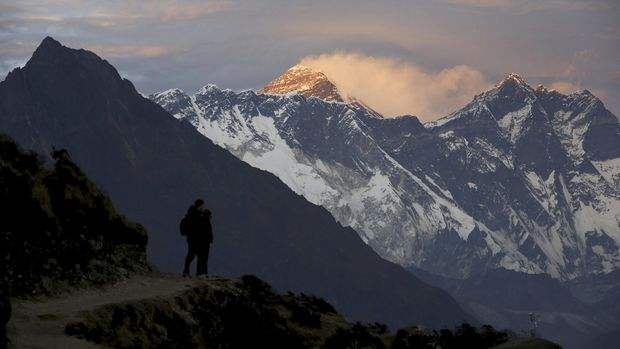 Gunung Everest, Nepal, 2015.